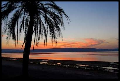 Sea-of-Galilee-sunset,-tb103106329-bibleplaces